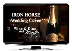 Iron Horse Wedding bCuvee
